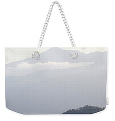 Weekender Tote Bag featuring the photograph Greg's Outlook by Jez C Self