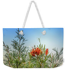 Grevillea With Moon Weekender Tote Bag