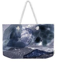 Grey Clouds Weekender Tote Bag
