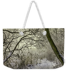 Weekender Tote Bag featuring the photograph Grey Day #h1 by Leif Sohlman