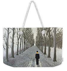 Grey Day Weekender Tote Bag