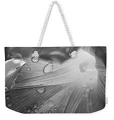 Grey Morning Weekender Tote Bag