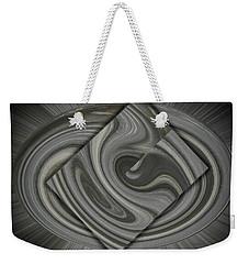 Grey On Grey Weekender Tote Bag