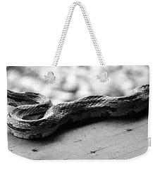Grey Rat Snake Weekender Tote Bag