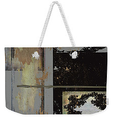 Grey Stacked Two Weekender Tote Bag by Kandy Hurley