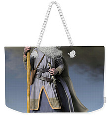 Grey Wizard Weekender Tote Bag