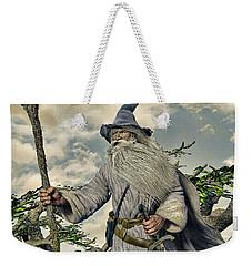 Grey Wizard II Weekender Tote Bag