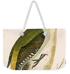 Grey Woodpecker Weekender Tote Bag