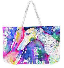 Greyhound Trance Weekender Tote Bag