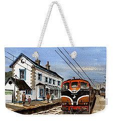 Greystones Railway Station Wicklow Weekender Tote Bag