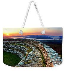 Grianan Fort Sunset Weekender Tote Bag