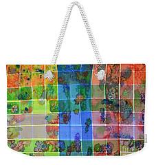 Gridlock Weekender Tote Bag