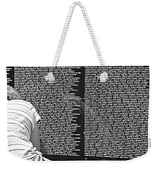 Grieving...... Still Weekender Tote Bag by John Schneider