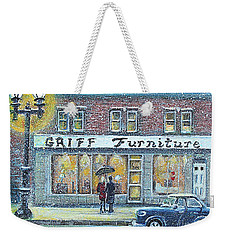 Griff Furniture Weekender Tote Bag by Rita Brown