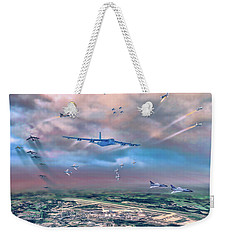 Griffiss Afb Rome Ny Weekender Tote Bag