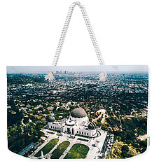 Griffith Observatory And Dtla Weekender Tote Bag
