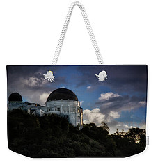 Griffith Observatory Weekender Tote Bag by Joseph Hollingsworth