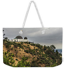 Weekender Tote Bag featuring the photograph Griffith Park Observatory by Ed Clark