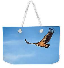 Griffon Vulture Weekender Tote Bag by Meir Ezrachi