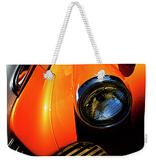 Weekender Tote Bag featuring the photograph Grill It by Rebecca Cozart
