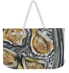 Grilled Weekender Tote Bag
