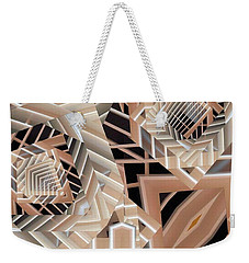 Weekender Tote Bag featuring the digital art Grilled by Ron Bissett