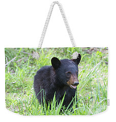 Grin And Bear It Weekender Tote Bag by Chris Scroggins