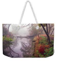 Grings Mill Fog 015 Weekender Tote Bag