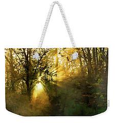 Grings Mill Fog 15-039 Weekender Tote Bag