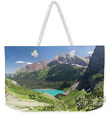 Grinnell Lake - Glacier National Park Weekender Tote Bag