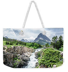 Weekender Tote Bag featuring the photograph Grinnell Point by Margaret Pitcher