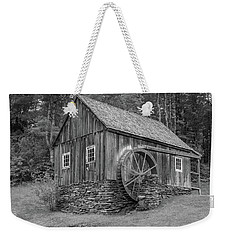 Weekender Tote Bag featuring the photograph Grist Mill by Guy Whiteley