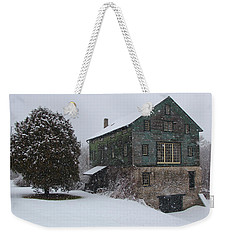 Grist Mill Of Port Hope Weekender Tote Bag by Davandra Cribbie