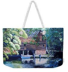 Grist Mill Philipsburg N Y Weekender Tote Bag