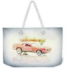 Gritty Mustang Mach 1 Weekender Tote Bag