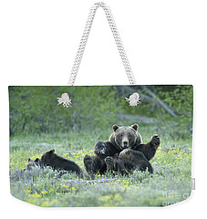 Grizzly Romp - Grand Teton Weekender Tote Bag