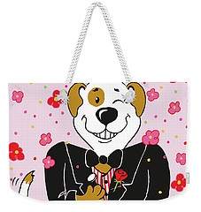 Groom Dog Weekender Tote Bag