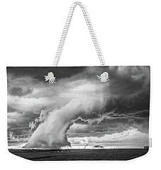 Groom Storm Bw Weekender Tote Bag