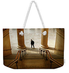 Groove Of The Urban Gadabout - Chicago Union Station Weekender Tote Bag