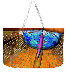 Weekender Tote Bag featuring the photograph Groovin by Paul Wear