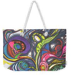 Groovy Series Weekender Tote Bag by Chrisann Ellis