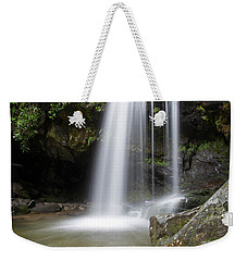 Grotto Falls Vertical Weekender Tote Bag