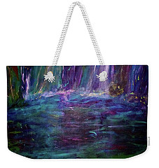 Grotto Weekender Tote Bag by Heidi Scott