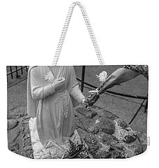Grotto Of Our Lady Of Lourdes Statue  Weekender Tote Bag