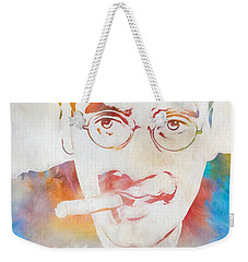 Groucho Marx Weekender Tote Bag by Dan Sproul