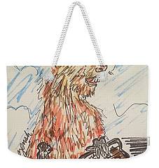 Groundhog Day Weekender Tote Bag by Geraldine Myszenski