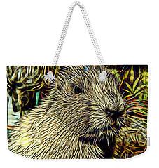 Groundhog Weekender Tote Bag by Marvin Blaine