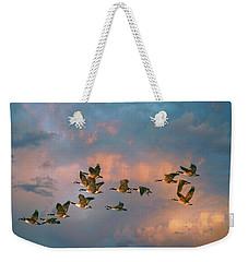 Group Flight Weekender Tote Bag