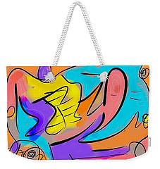 Group Hug Weekender Tote Bag by Jason Nicholas