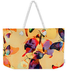 Group Of Butterflies With Colorful Wings Weekender Tote Bag by Jorgo Photography - Wall Art Gallery
